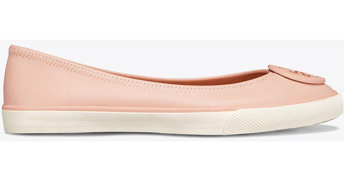 a34a55eea472 Lyst - Tory Burch Skylar Ballet Sneaker