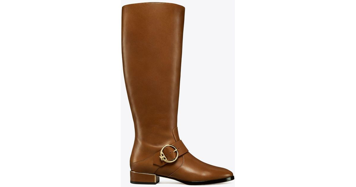 9951121285e50 Lyst - Tory Burch Sofia Riding Boot
