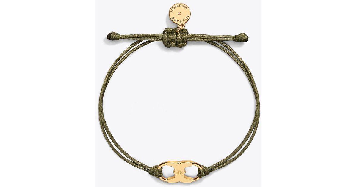 7f308da1308 Tory Burch Embrace Ambition Bracelet In Metallic Lyst