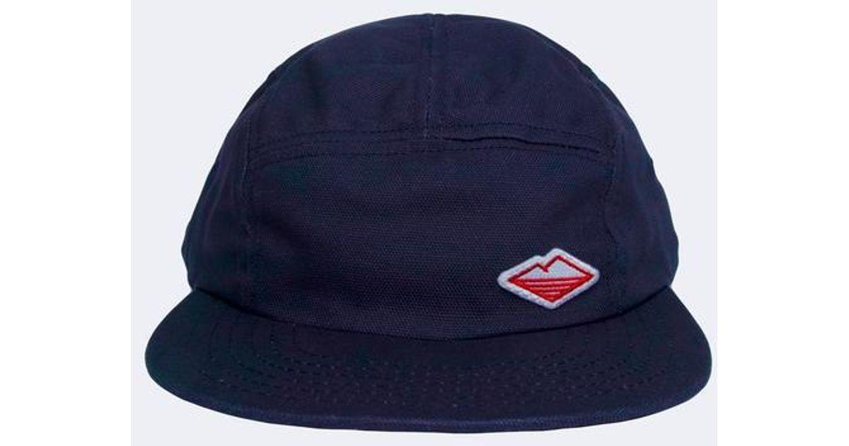 Lyst - Battenwear Travel Cap in Blue for Men de4676b54672