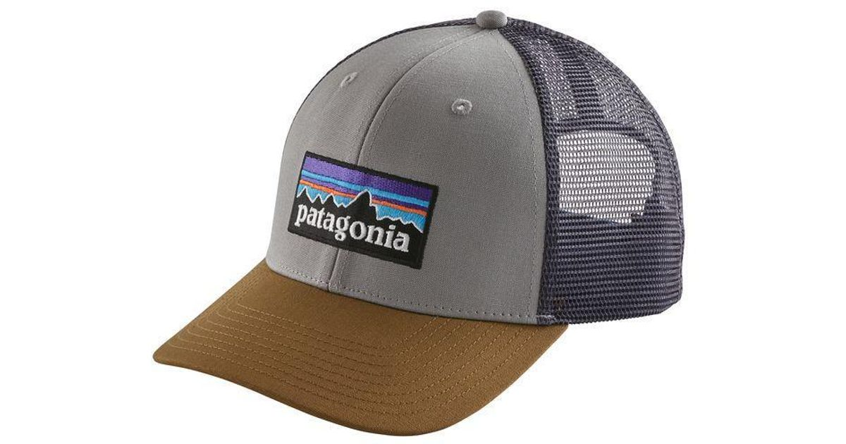 3ade2b321 Patagonia - Multicolor P-6 Trucker Hat for Men - Lyst
