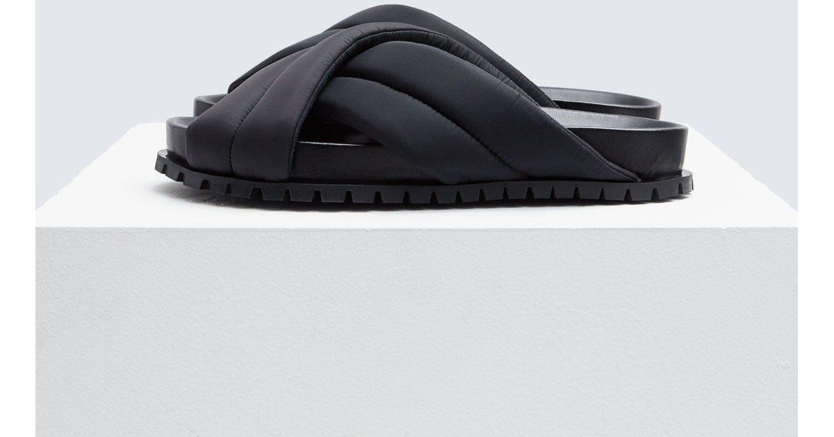 c953f7559 Lyst - Jil Sander Puffy Sandal in Black for Men