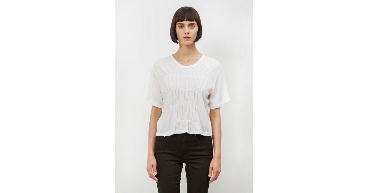 Lyst - Totokaelo White Cala T-shirt in Black cbd8672dd17