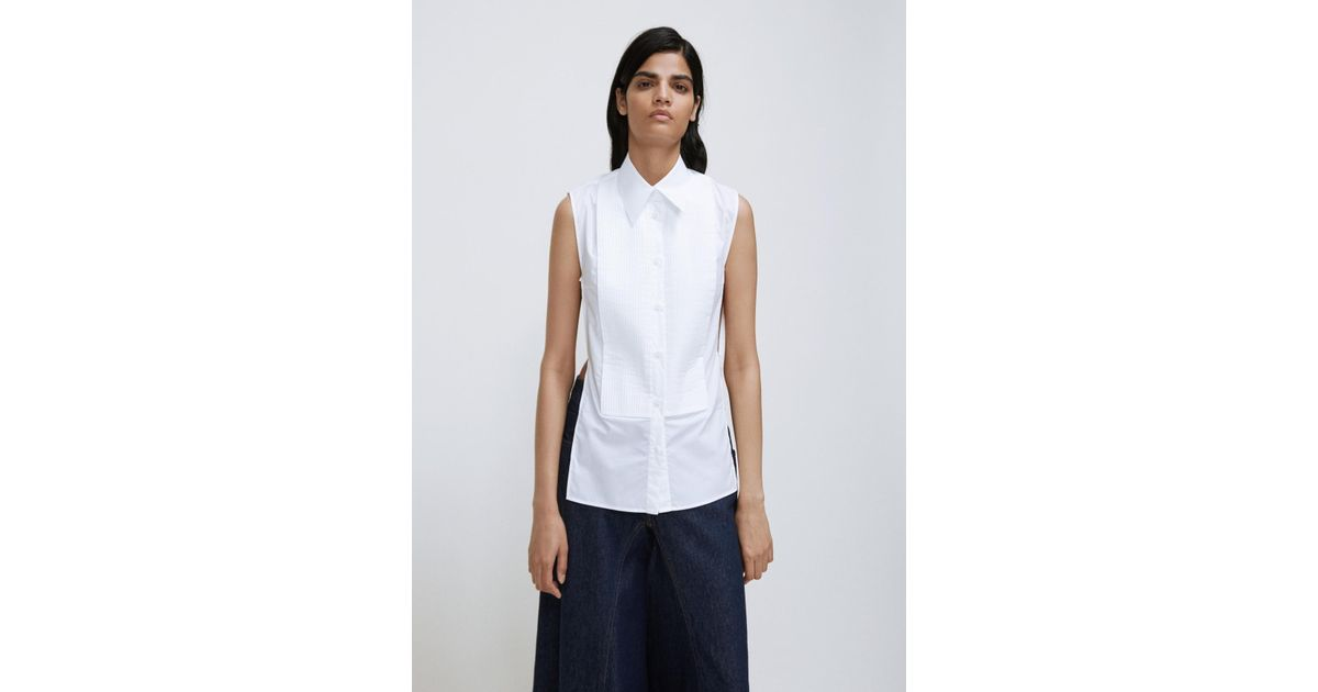 Manchester Great Sale For Sale Footlocker Pictures Cheap Price Black Parachute Poplin Blouse Maison Martin Margiela Affordable For Sale Cheap Sale Lowest Price Sale How Much FyztQEN