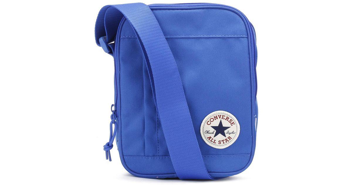 Lyst - Converse Laser Blue Poly Cross-body Bag in Blue 8f3ffab39f72c