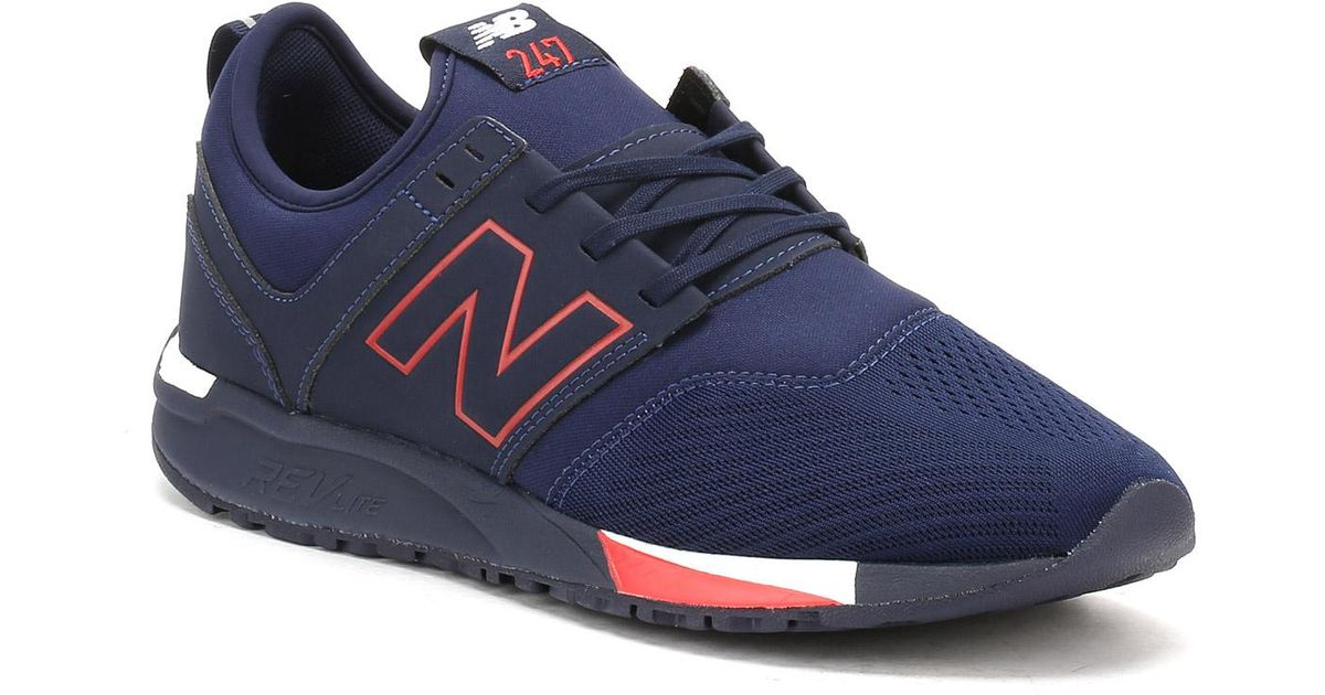 new balance 247 navy blu uomo