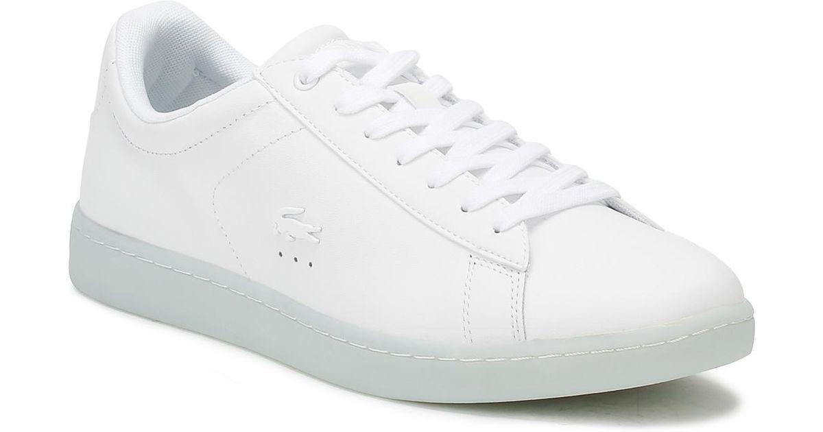 661624e3ccbbdf Lacoste Carnaby Evo 118 3 in White - Save 42% - Lyst