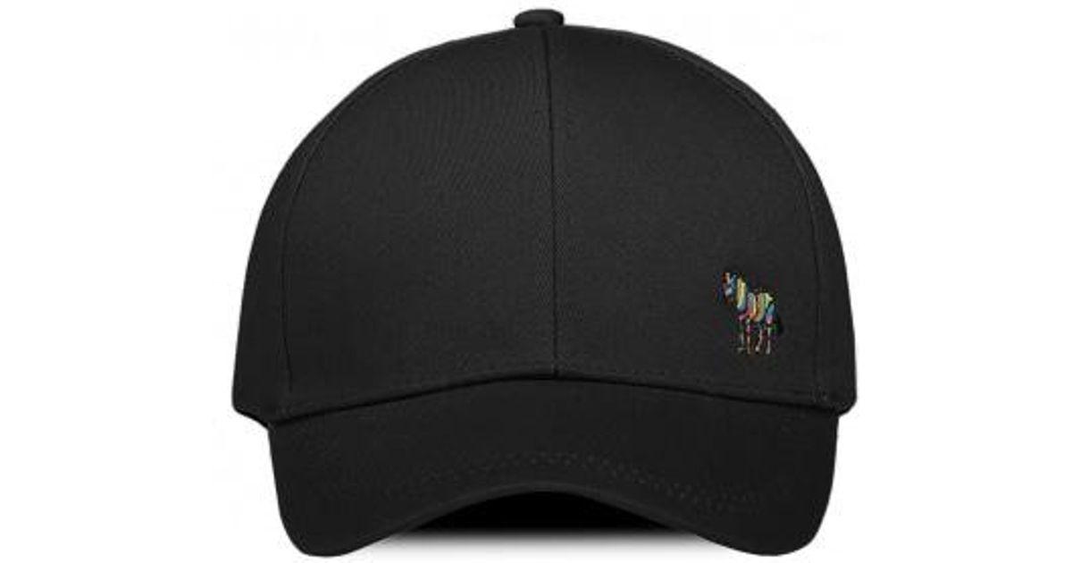 4cc3b5d86c1 Lyst - Paul Smith Zebra Baseball Cap in Black for Men