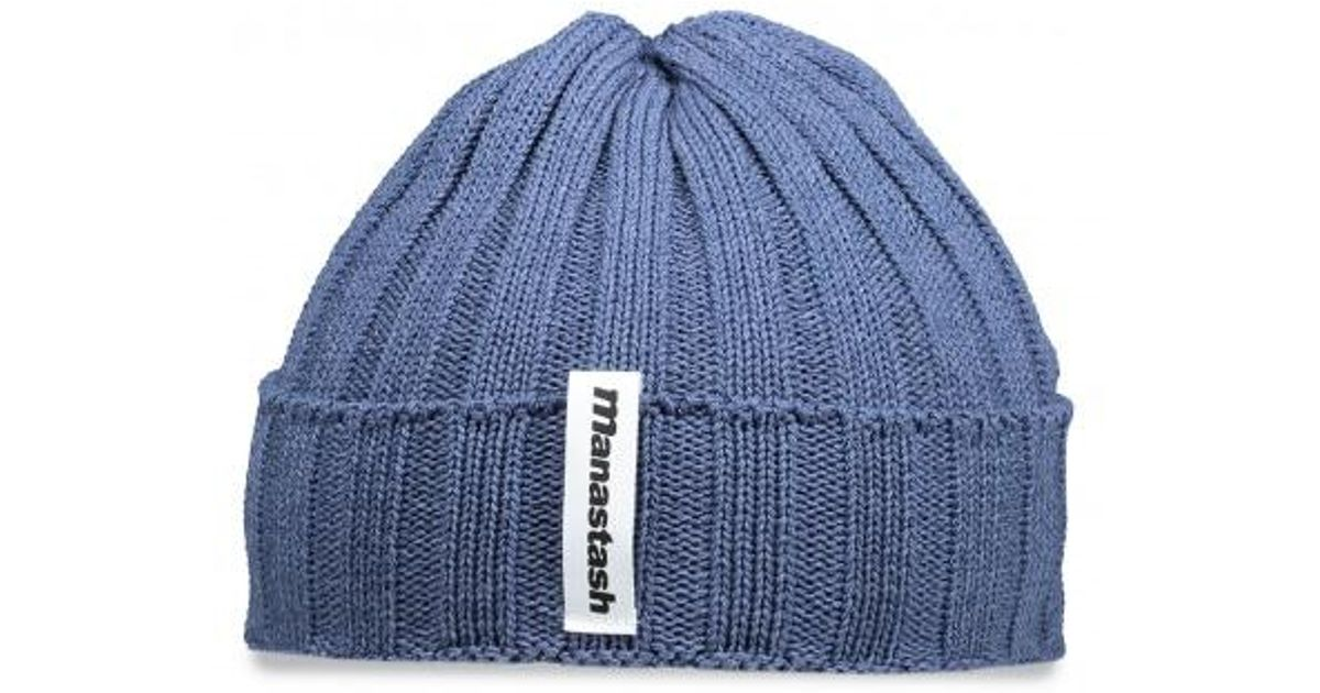 Lyst - Manastash Light Beanie in Blue for Men fe520595d820
