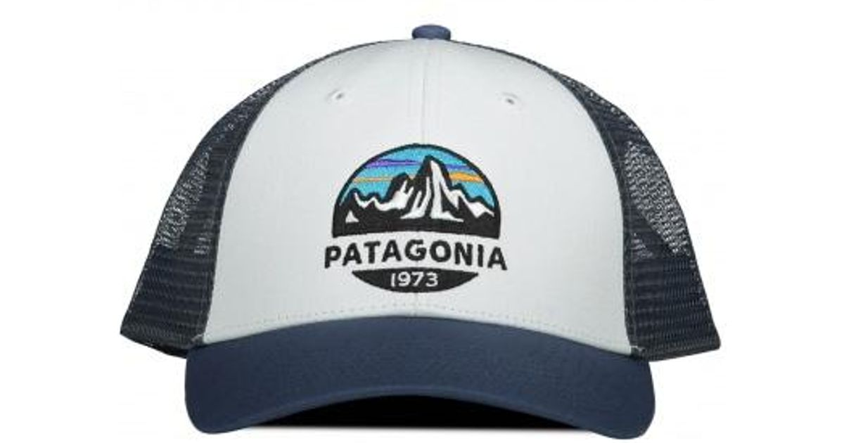612d8971db2 Patagonia Fitz Roy Scope Lopro Cap in White for Men - Lyst