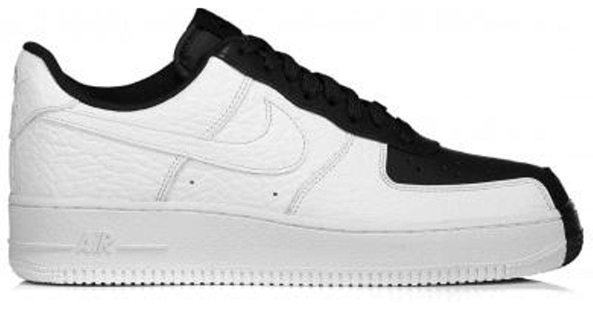 fcc1efb4a5fc3a Lyst - Nike Air Force 1 07 Prm in Black for Men