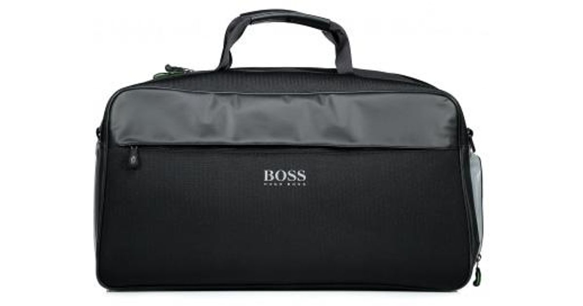 6dbca1f4c BOSS Lightec Holdall in Black for Men - Lyst