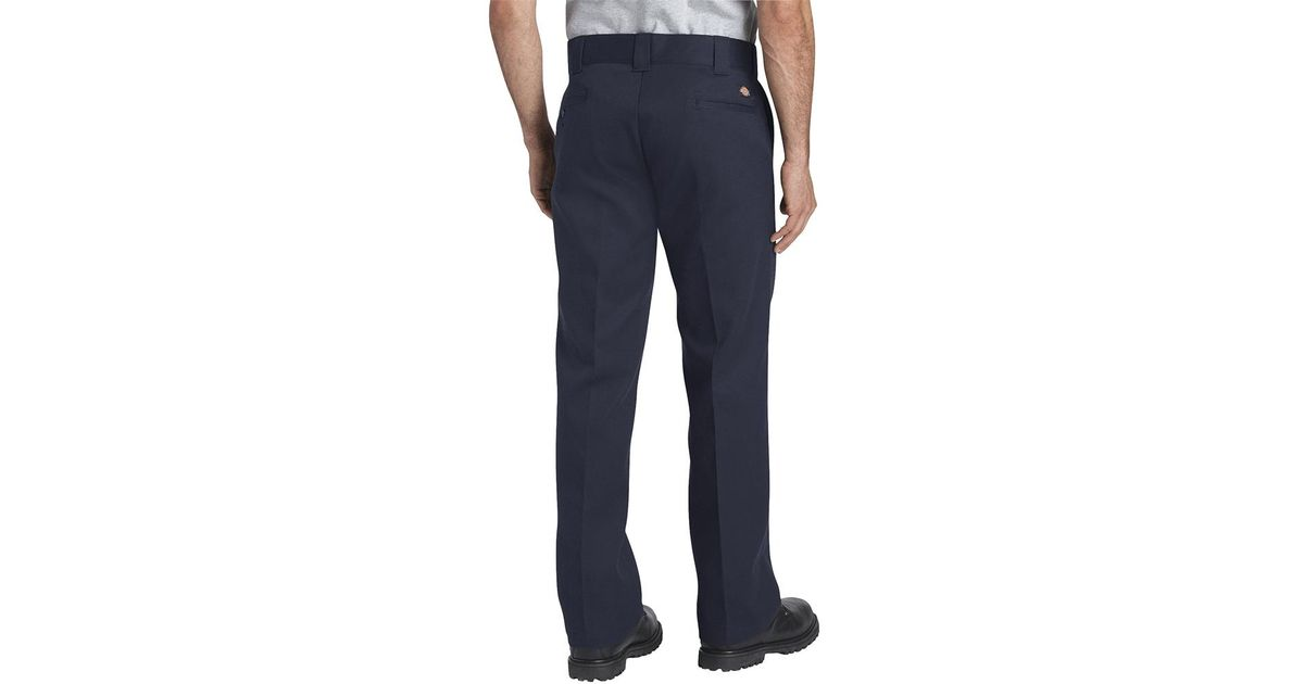 60% cheap cute cheap later Dickies - Navy Blue 872 Slim Fit Work Pants for Men - Lyst