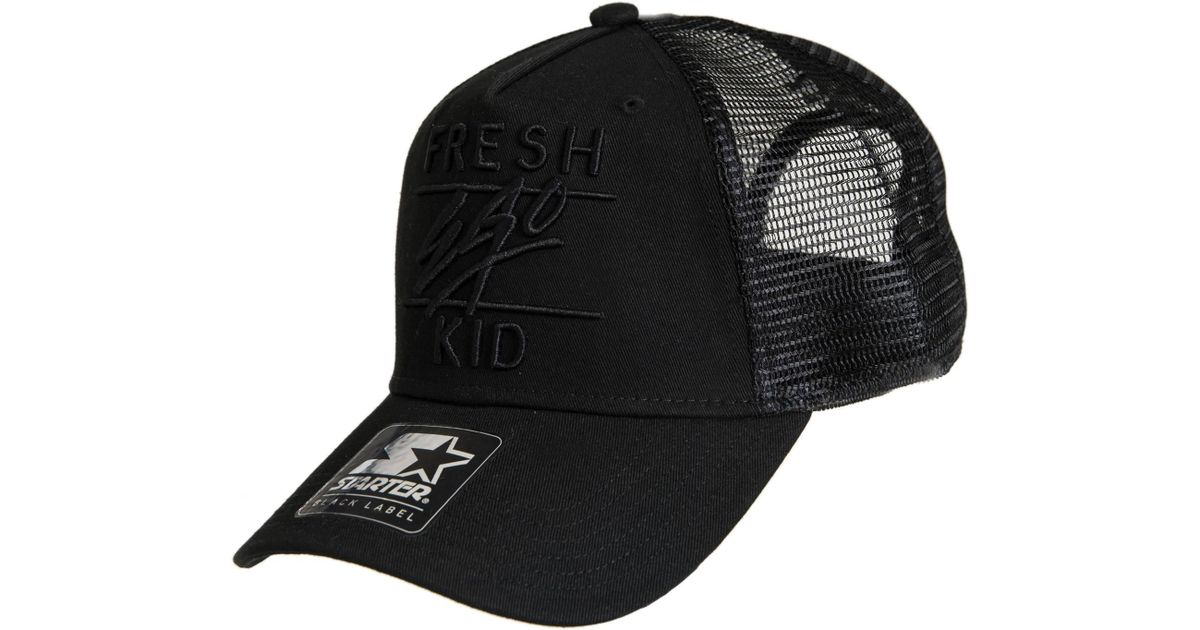 46a7eca8e83 Fresh Ego Kid Mesh Trucker Snapback Baseball Cap in Black for Men - Lyst