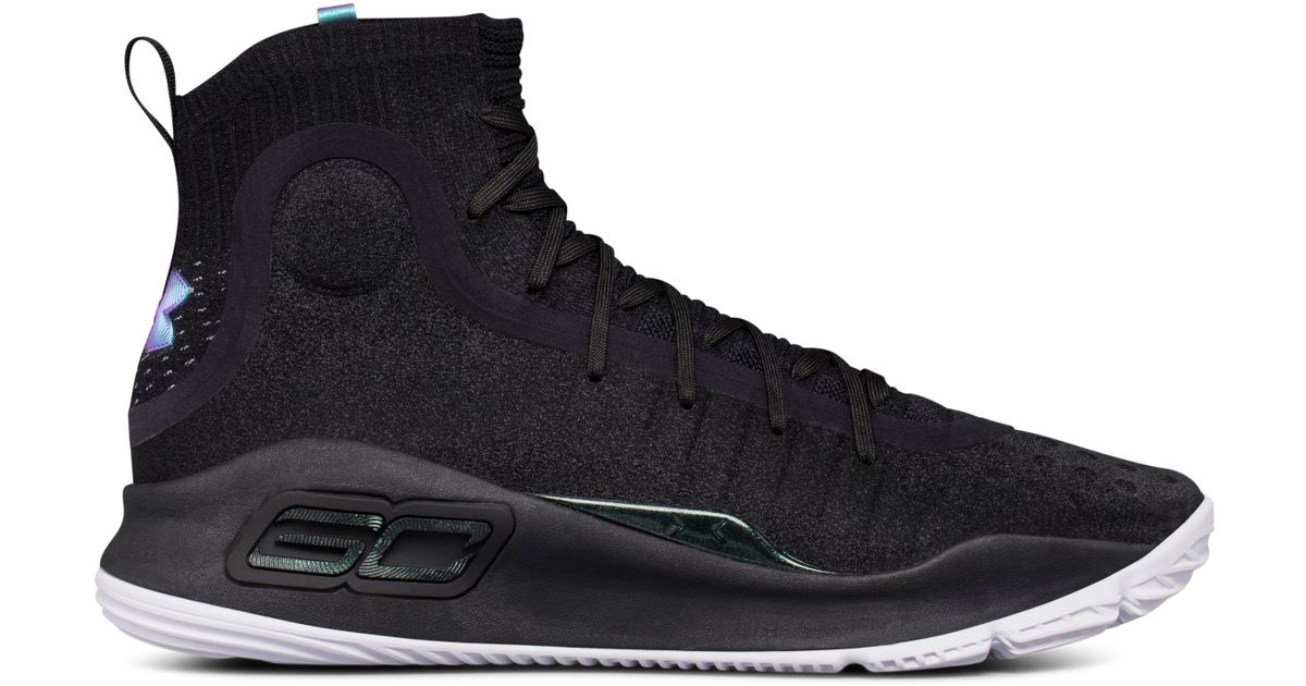 2073235e16f9bf Lyst - Under Armour Men s Ua Curry 4 Basketball Shoes in Black for Men