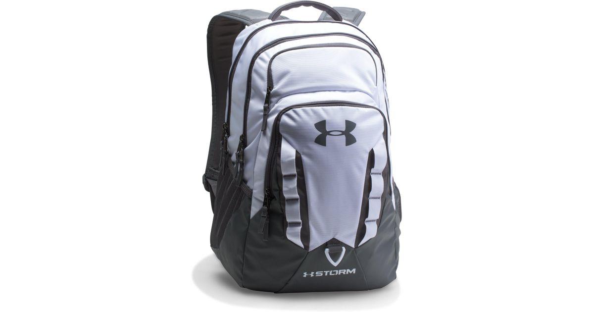 d36911e73d3 Under Armour Ua Storm Recruit Backpack for Men - Lyst