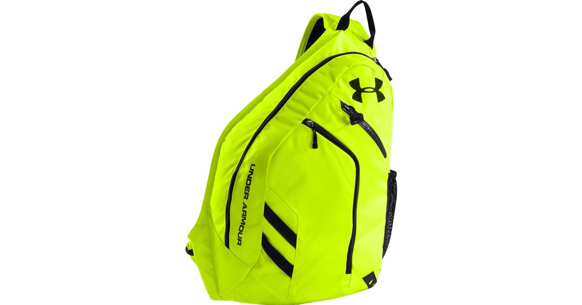 quality design a664b 8a3d3 Under Armour Ua Storm Compel Sling Pack in Yellow - Lyst