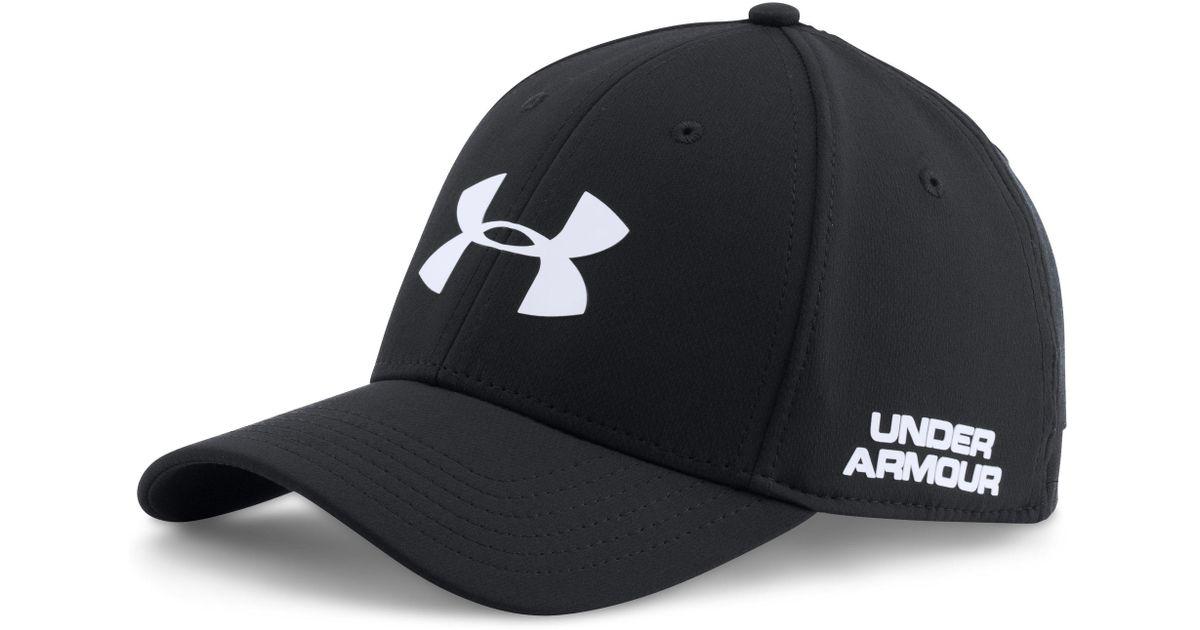 77991d830dd Lyst - Under Armour Golf Headline Cap in Black for Men