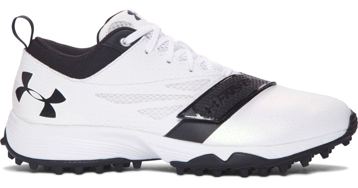 Black Under Armour Turf Shoes