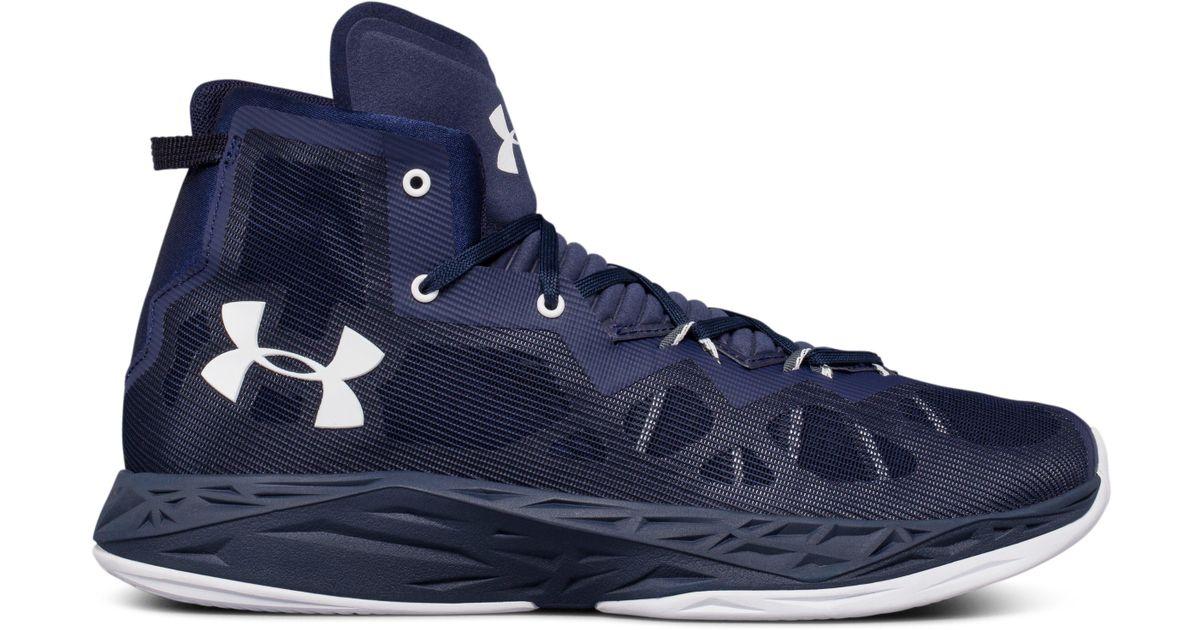 20b14e4d6f94 Lyst - Under Armour Men s Ua Lightning 4 Basketball Shoes in Blue for Men