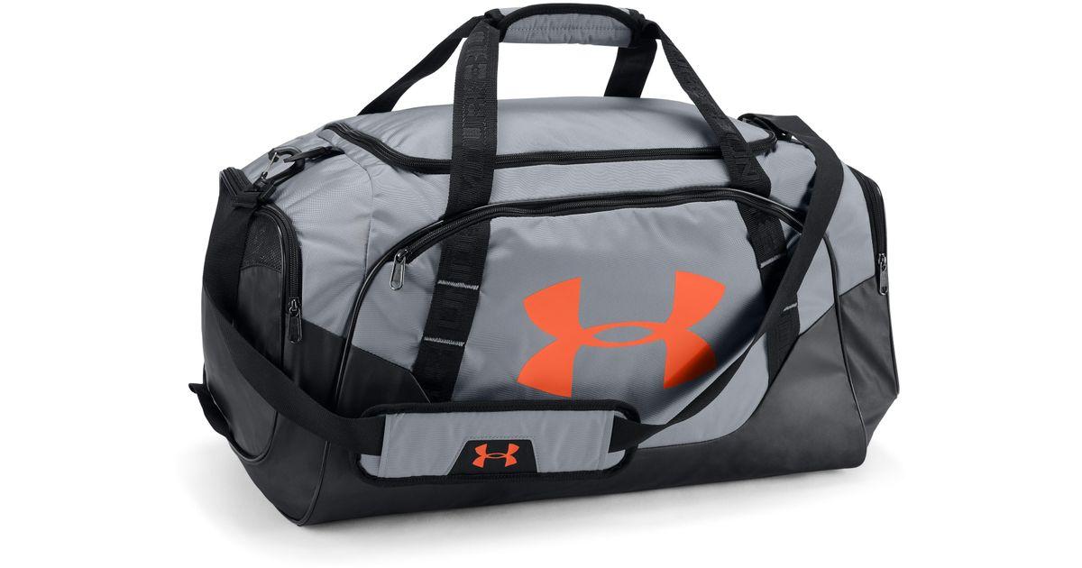 91a01877e Under Armour Men's Ua Undeniable 3.0 Medium Duffle Bag in Black for Men -  Lyst