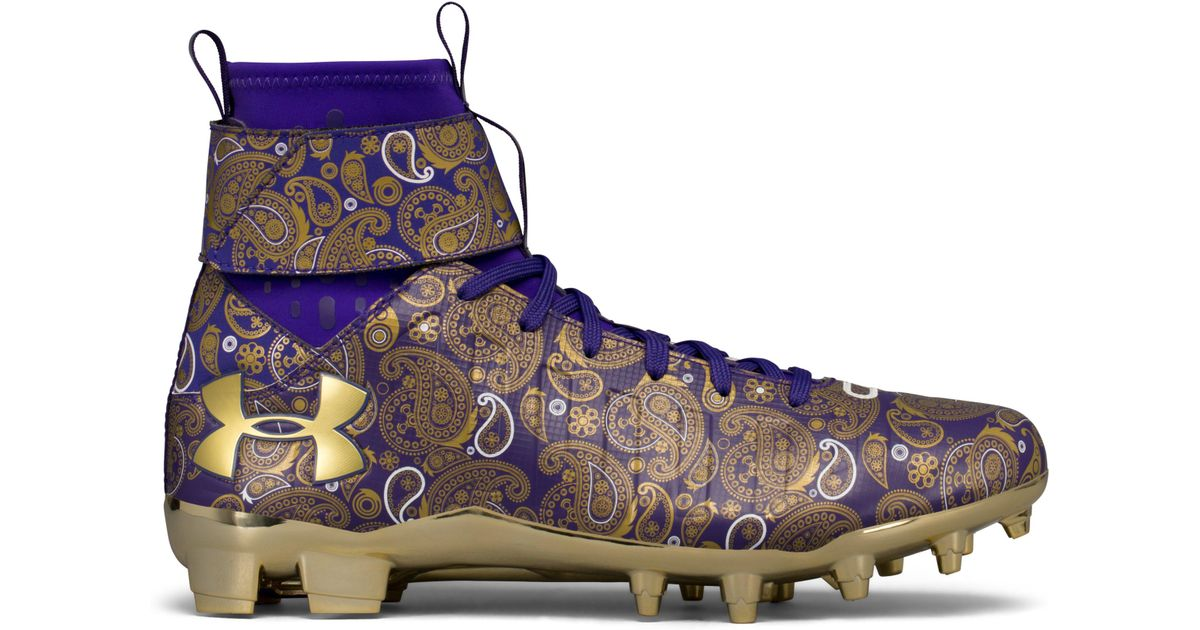 Lyst - Under Armour Men s Ua C1n Mc Football Cleats – Limited Edition in  Purple for Men c582d82bf004