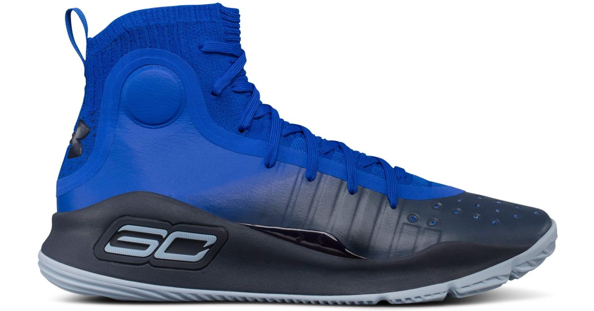 2daff44d26f5 Under Armour Men s Ua Curry 4 Basketball Shoes in Blue for Men - Lyst