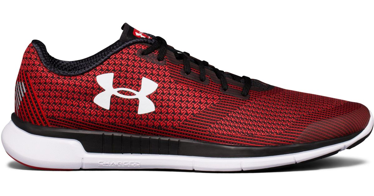 49b4ec1d Under Armour Men's Ua Charged Lightning Running Shoes in Red for Men - Lyst