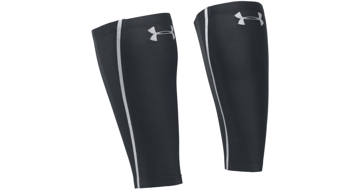 079171b937 Under Armour Men's Ua Run Reflective Coolswitch Calf Sleeves in Black for  Men - Lyst
