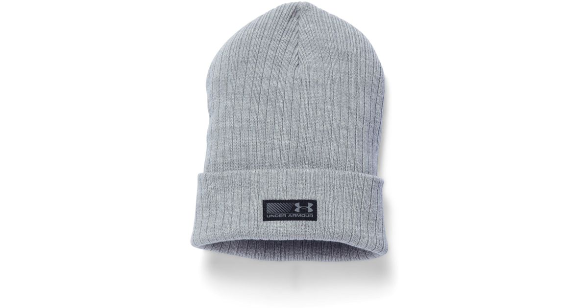 00357eab559414 Under Armour Men's Ua Truck Stop Beanie in Gray for Men - Lyst
