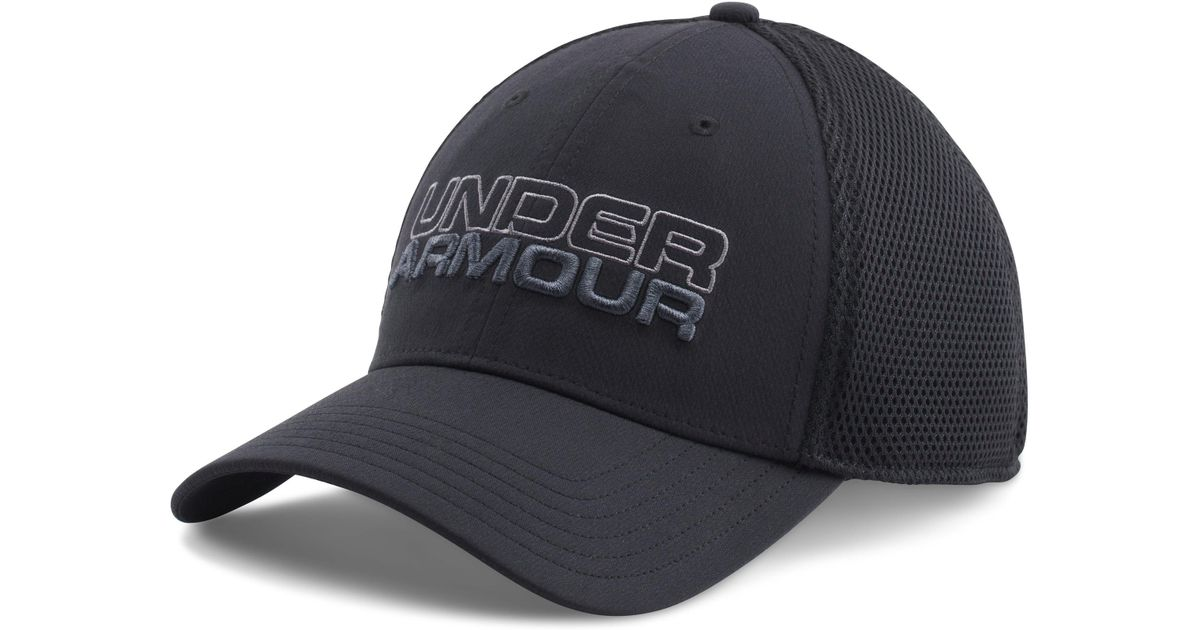 819bfc5ec6189 ... where to buy lyst under armour mens ua sportstyle mesh cap in black for  men c4c88