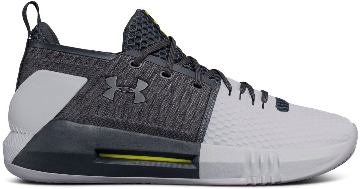 543f189b473 Under Armour Men s Ua Drive 4 Low Basketball Shoes in Gray for Men - Lyst