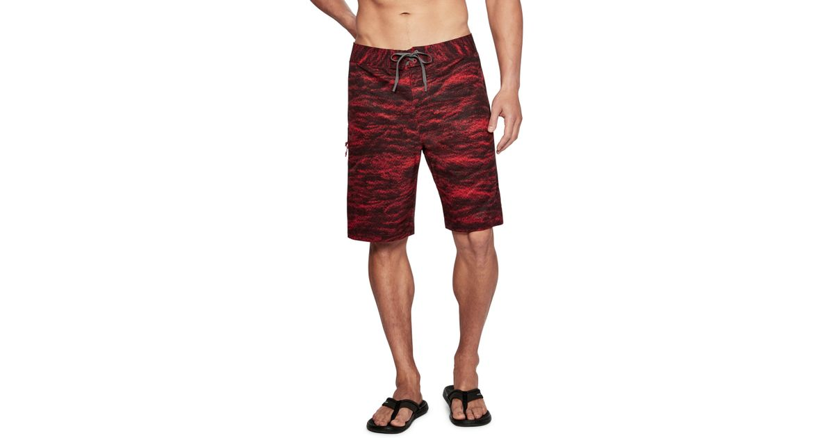 7f1e39ed789 Under Armour Stretch Printed in Red for Men - Lyst