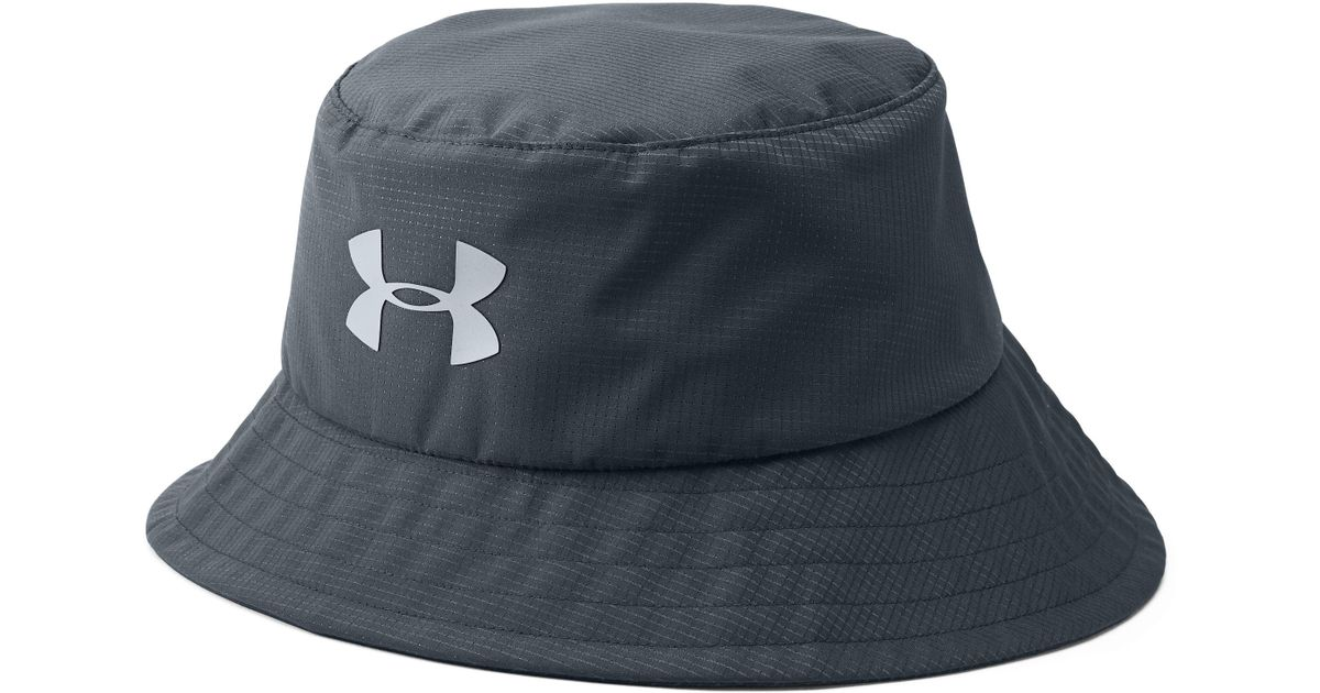 Lyst - Under Armour Men s Ua Storm Golf Bucket Hat in Gray for Men 5164badd9c06
