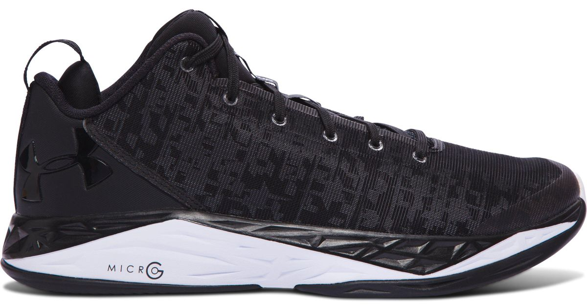 8819323ffb79 Lyst - Under Armour Men s Ua Fireshot Low Basketball Shoes in Black for Men