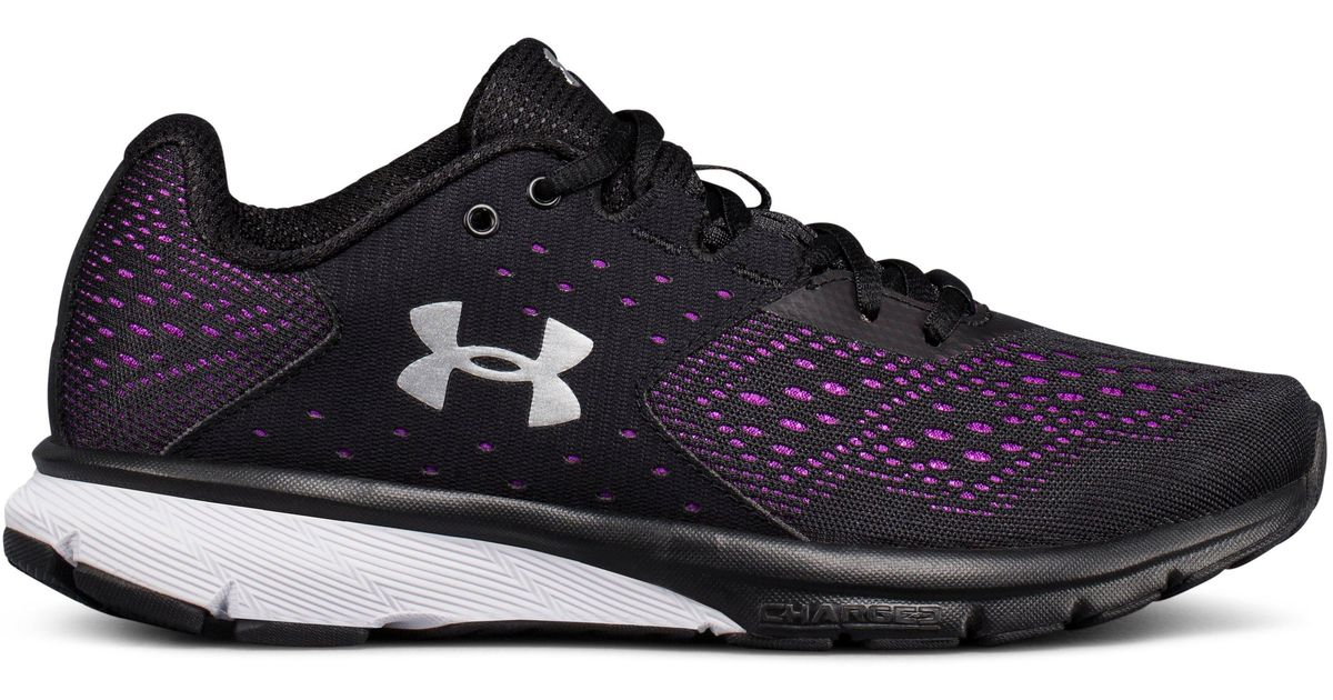 fcfaf87e3a Under Armour Black Women's Ua Charged Rebel Running Shoes