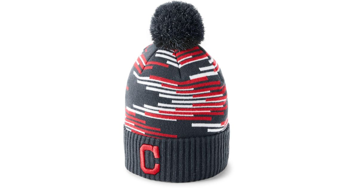 5352778ebbd Lyst - Under Armour Boy s Mlb Team Pom Beanie in Red for Men