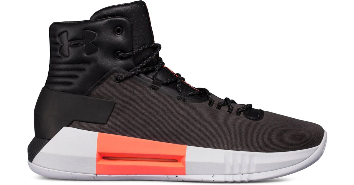 a1b97ccaa11d Lyst - Under Armour Men s Ua Drive 4 Premium Basketball Shoes in Black for  Men