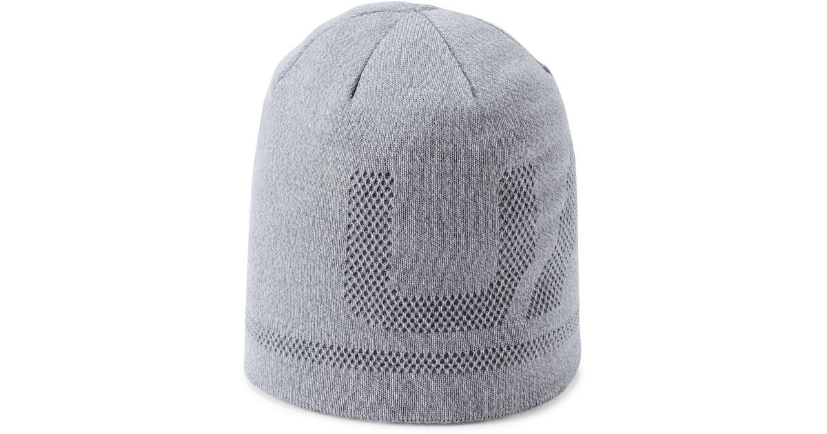 ab81831424e Lyst - Under Armour Men s Ua Billboard Beanie 3.0 Beanie in Gray for Men