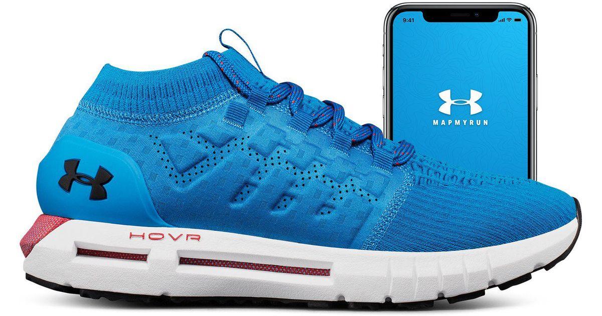 babdd7c7577 Under Armour Men s Ua Hovr Phantom Connected Running Shoes in Blue for Men  - Lyst