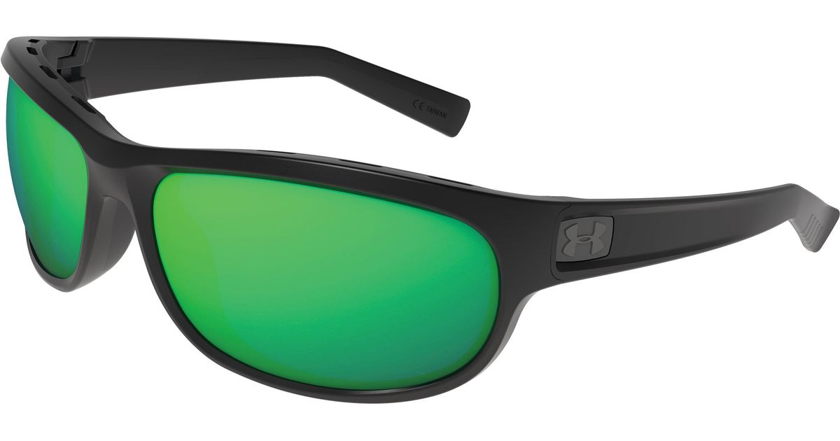 a8595a763f79 Lyst - Under Armour Ua Capture Storm Polarized Sunglasses in Green for Men