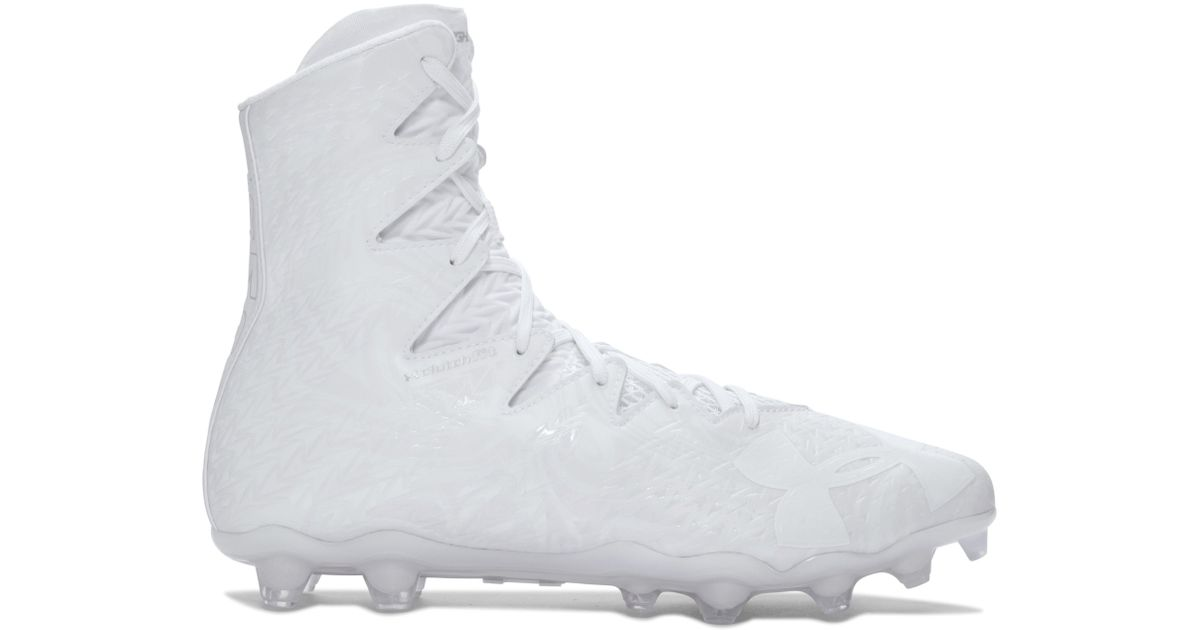 Lyst - Under Armour Men s Ua Highlight Lux Mc Football Cleats in White for  Men 66e85bf31289