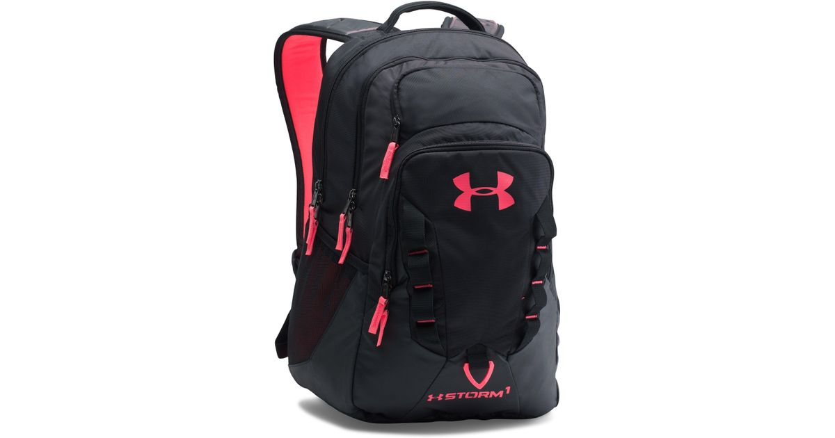Lyst - Under Armour Ua Storm Recruit Backpack in Black 452520c773938