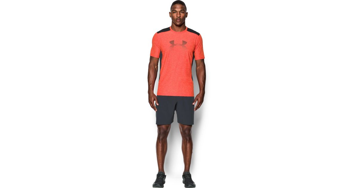 35f420dd Under Armour Men's Ua Raid Graphic T-shirt in Red for Men - Lyst