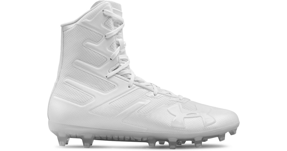 1f70e83a9ba Under Armour Men s Highlight Mc Football Cleats in White for Men - Save 25%  - Lyst