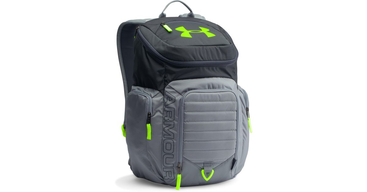 watch 01c56 64f93 Under Armour Ua Storm Undeniable Ii Backpack in Gray for Men - Lyst