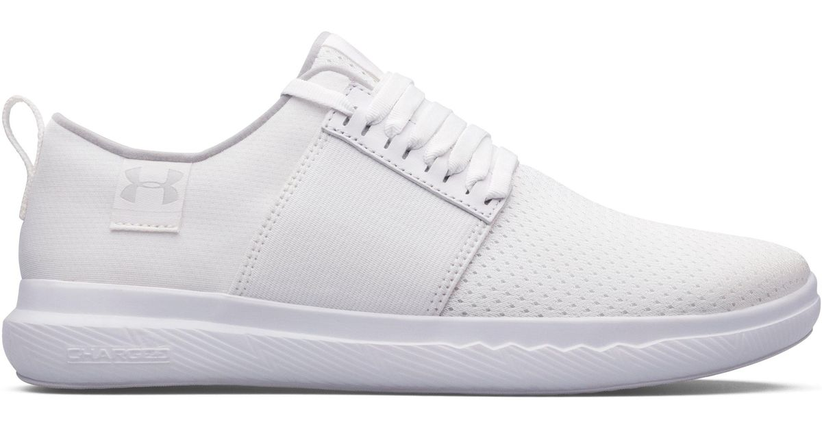 Lyst - Under Armour Women s Ua Icon Charged 24 7 Custom Shoes in White 4180526b7