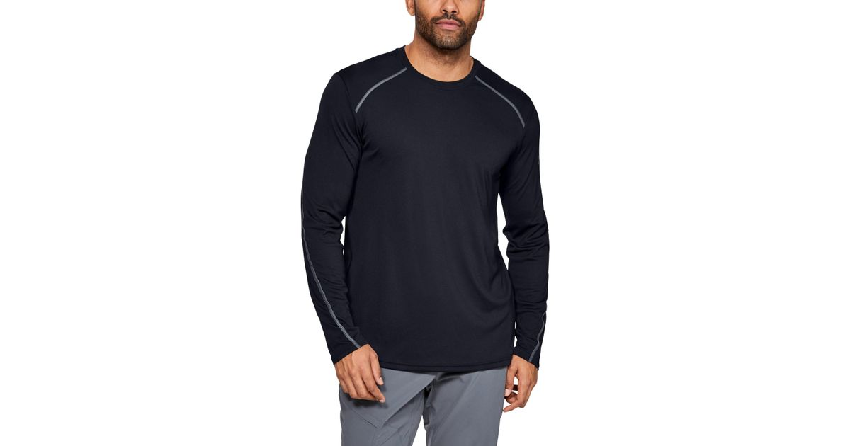 08963e305128 Lyst - Under Armour Men s Ua Sun Armour Graphic Long Sleeve in Black for Men