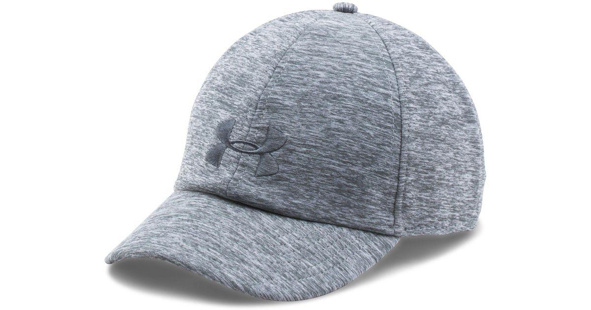 1932d682d5f Lyst - Under Armour Renegade Twist Cap in Gray