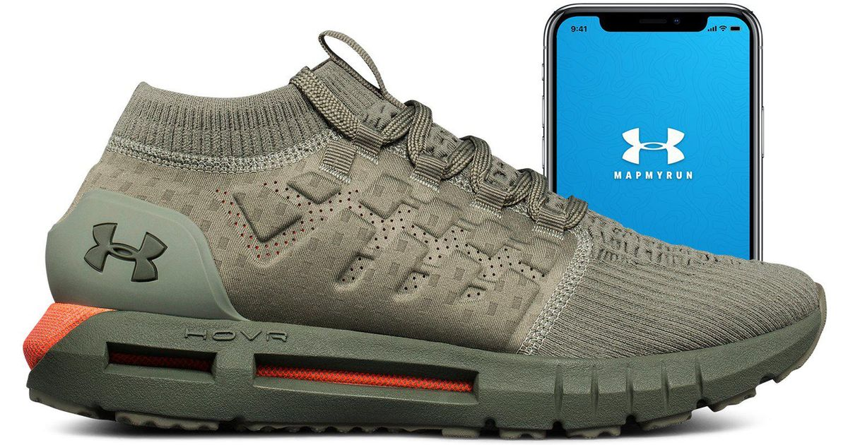 933cfd436fd3 ... germany lyst under armour mens ua hovr phantom connected running shoes  in green for men 587fb